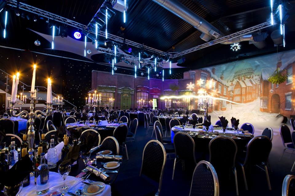 Birchley suite set christmas party